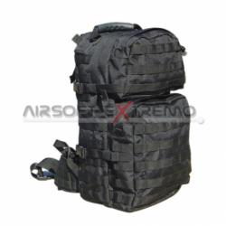 GENUINE GEAR F5450 BDU Coat 60C/40P Ripstop Black XLR