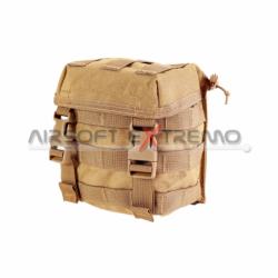 PANTAC PH-C208-BK-A Molle M16 Single Mag Pouch, Black