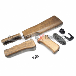 G&G AK47 Wood Stock Set for...